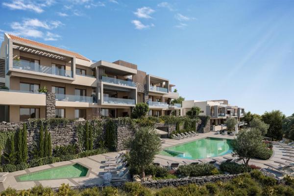 2 Sovrum, 2 Badrum Lägenhet Till Salu i Real de la Quinta, Benahavis
