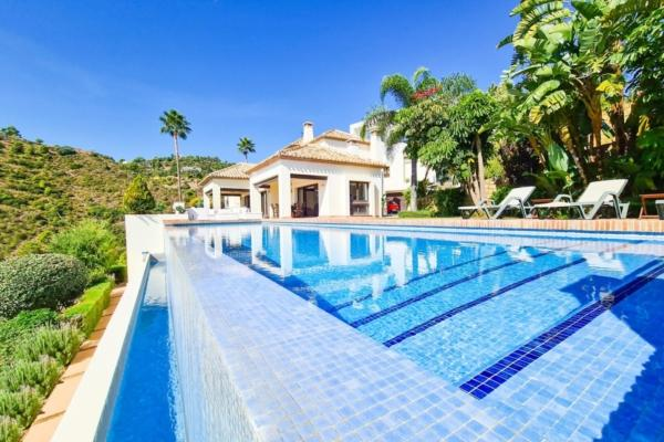6 Sovrum, 7 Badrum Villa Till Salu i La Quinta, Benahavis